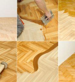 Nyslipade, härliga golv