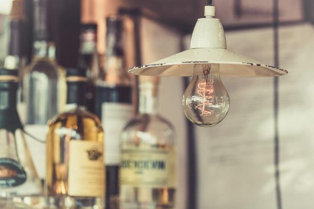 Elsäkerhet gammal lampa
